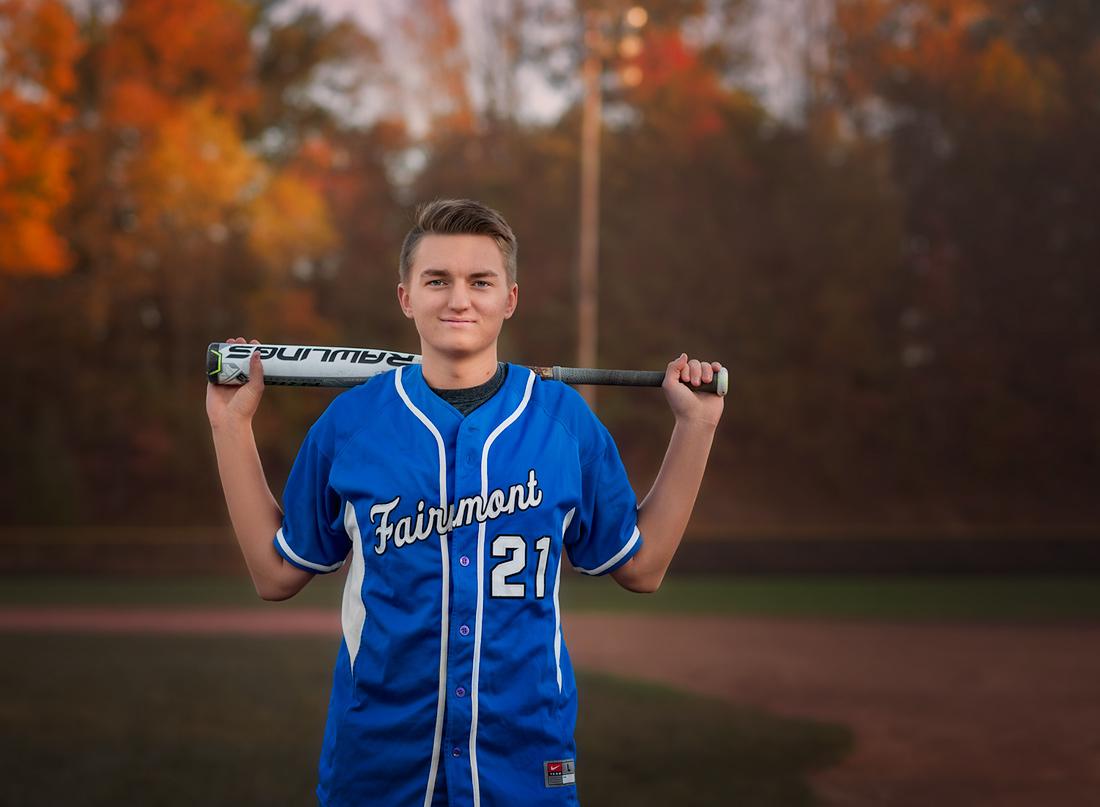 baseball bat and senior