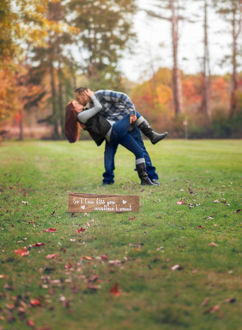 engagements fall photo sessions