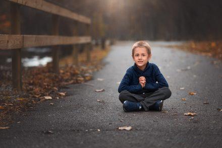 fall kid photos